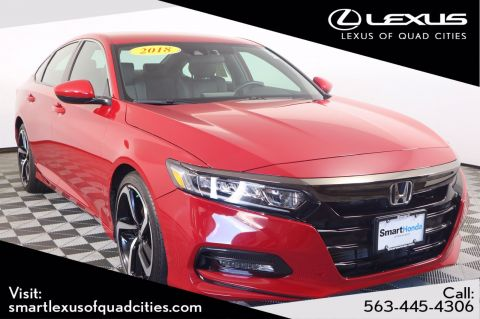 Pre-Owned 2018 Honda Accord Sedan Sport 1.5T